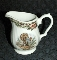 Queen's China Multicolor Thanksgiving Creamer