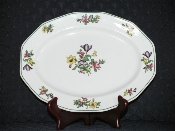 Booths Silicon China Old Staffordshire Oval Platter