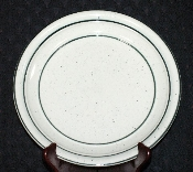 Tienshan Country Crock Green Dinner Plates