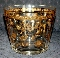 Culver Glass Eames Era Gold Encrusted Ice Bucket
