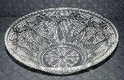 Federal Glass Heritage Clear Centerpiece Fruit Bowl