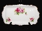 Royal Albert Bone China American Beauty Rose Sandwich Tray