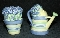 Pfaltzgraff Summer Breeze Sculpted Watering Can Shakers