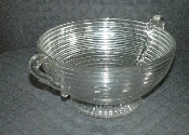 Anchor Hocking Manhattan Large Footed Fruit Centerpiece Bowl