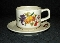 Lenox Summer Harvest Temperware Cup Saucer Sets
