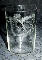 Fostoria Etched Butterfly & Roses Blown Depression Juice Glasses
