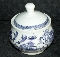 Royal Cuthbertson Willow Blue Covered Sugar Bowl