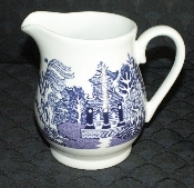 Royal Cuthbertson Willow Blue Creamer