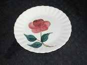 Blue Ridge Southern Pottery Hand Painted Floral Luncheon Plates