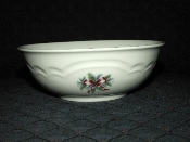 Pfaltzgraff Stoneware Red Ribbon Soup Cereal Bowls