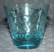 Hazel Atlas Capri Skol Dots Double Old Fashion Glasses