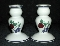 Princess House Orchard Medley Candlestick Set