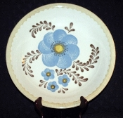 Royal China Jeannette Blue Flower Salad Pasta Serving Bowl