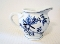 Blue Danube Blue Onion Ribbon Mark Creamer