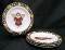 Debbie Mumm Sakura Gathering of Angels Dessert Plate Set