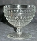 Anchor Hocking Clear Hobnail Champagne Tall Sherbet Glasses