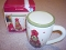 American Atelier Christmas Tree Coffee Mug With Lid