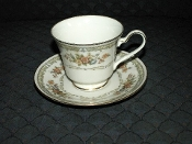 Noritake Ivory China Homage Cup Saucer Sets