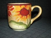 Pfaltzgraff Evening Sun Earthenware Coffee Mugs