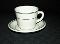 Homer Laughlin Green Band Restaurant Ware Cup & Saucer Sets