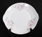 Royal Grafton Pink Day Lily Bone China Handled Cake Plate