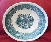 Taylor Smith Taylor Currier & Ives Coupe Soup Bowls