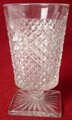 Westmoreland English Hobnail Footed Juice Glasses