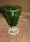 Anchor Hocking Green Inspiration Gold Trim Burple Goblets