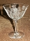 Fry Crystal Rose Champagne Glasses Tall Sherbets