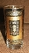 Libbey Eames Era Gold Encrusted Scroll Panel Tall Tumblers