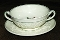 Wedgwood Patrician Tapestry Cream Soup Bowl & Saucer Sets