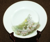 Hutschenreuther Selb English Meadow Dinner Plates