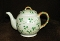 Antique Erin Carrigaline Embossed Shamrock Luster Tea Pot