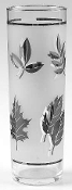 Libbey Silver Leaf Tom Collins Glasses Coolers