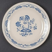 Corning Corelle Blue Floral Luncheon Plates