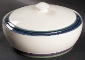Pfaltzgraff Mountain Shadow Two Quart Covered Casserole