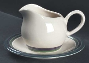 Pfaltzgraff Mountain Shadow Gravy Boat & Underplate