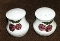 Orchard Ware Hollywood Ware Cherry Tall Salt Pepper Shaker Set