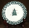 Tienshan Folkcraft Holiday Pines Tree Dessert Plates