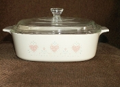 Corning Corelle Forever Yours Covered Casserole