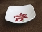 Orchard Ware Hollywood Ware Red Tiger Lily Square Bowls