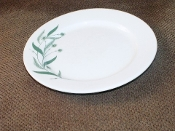 Homer Laughlin Green Field Luncheon Plates