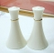 Lenox Miramar Gold Ivory Salt Pepper Shaker Sets