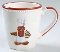 Williams Sonoma Christmas Gingerbread Chef  Mug Sets