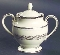 Noritake Westover Platinum Covered Sugar Bowl