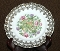 Antique Royal Albert Crown China Thistle & Roses Luncheon Plates