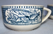 Royal China Currier & Ives Tea Cups