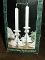 Vintage International Silver Silverplated  Candlestick Pair