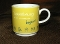 Villeroy & Boch Yellow Luxembourg City Mugs