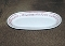 Buffalo China Kenmore Red Restaurant Ware Relish Tray
